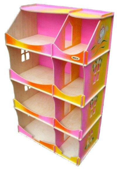 кукольный домик шкаф радужный с росписью 090рhg купить в киеве и украине