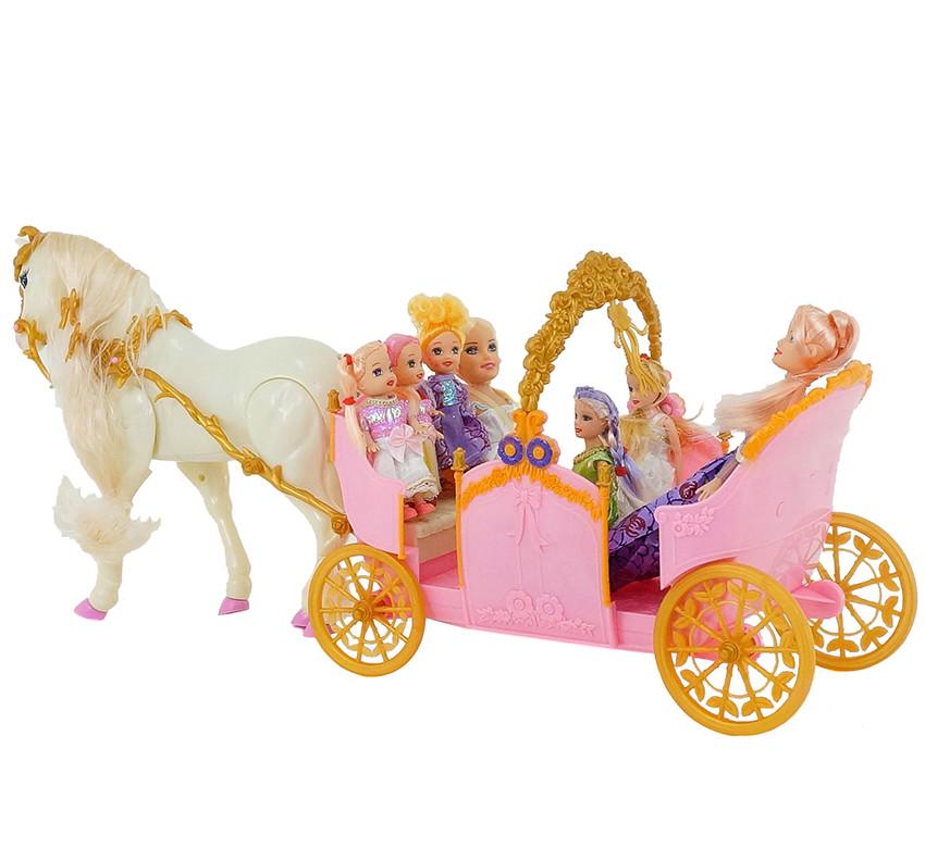 Картинки лошадь с каретой игрушки запросу
